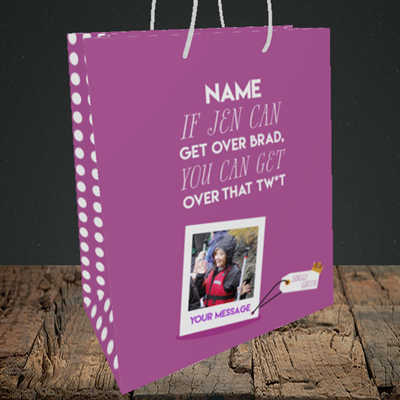 Picture of Brad, Thinking of You Design, Medium Portrait Gift Bag