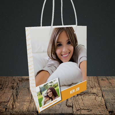 Picture of Photo, New Job Design, Small Portrait Gift Bag