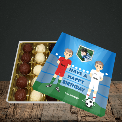 Picture of Football, Birthday Design, Choc 25