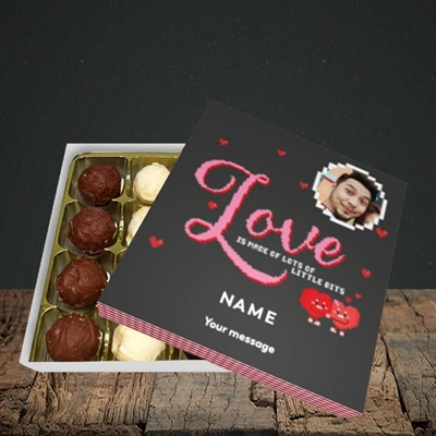 Picture of Love Bits, Valentine's Design, Choc 16