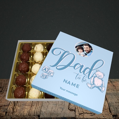 Picture of Dad To Be, Pregnancy Design, Choc 25