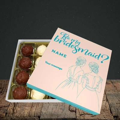 Picture of Be My Bridesmaid(Without Photo), Wedding Design, Choc 16