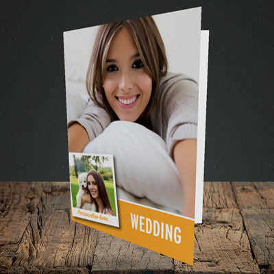 Picture of Photo, Wedding Design, Portrait Greetings Card