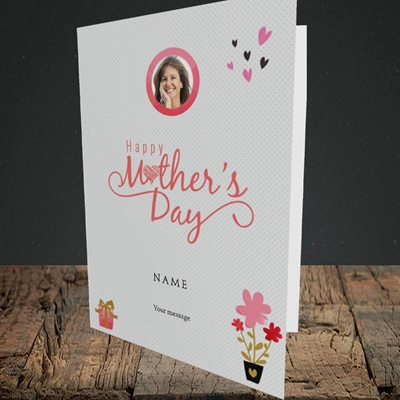 Picture of Happy Mother's Day Gifts, Portrait Greetings Card