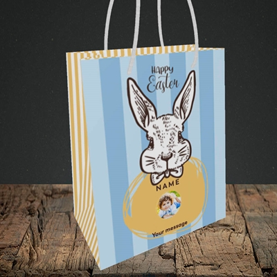 Picture of Bunny Of The Fells, Easter Design, Small Portrait Gift Bag