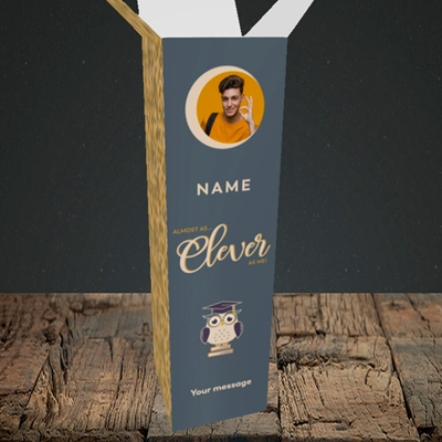 Picture of Clever as Me, Graduation Design, Upright Bottle Box