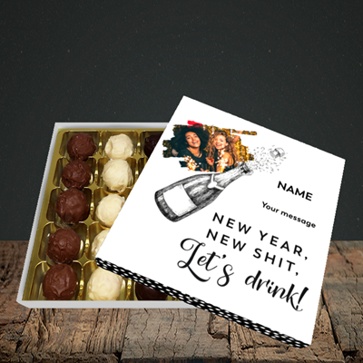 Picture of Let's Drink, New Year Design, Choc 25