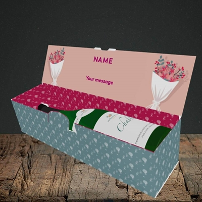 Picture of I Do Crew(Without Photo), Wedding Design, Lay-down Bottle Box