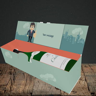 Picture of Thumb, New Job Design, Lay-down Bottle Box