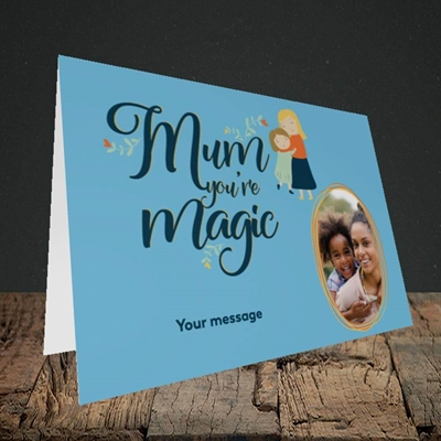Picture of Mum You're Magic, Mother's Day Design, Landscape Greetings Card