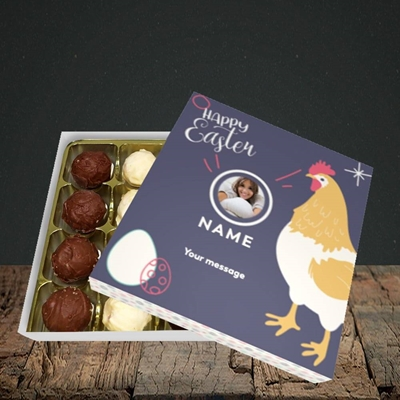 Picture of Easter Hen, Easter Design, Choc 16