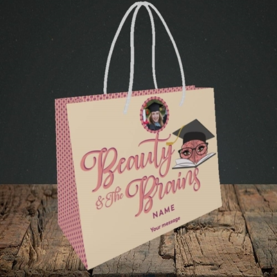 Picture of Beauty & The Brain, Graduation Design, Small Landscape Gift Bag