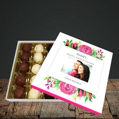 Picture of Flowers, Anniversary Design, Choc 25