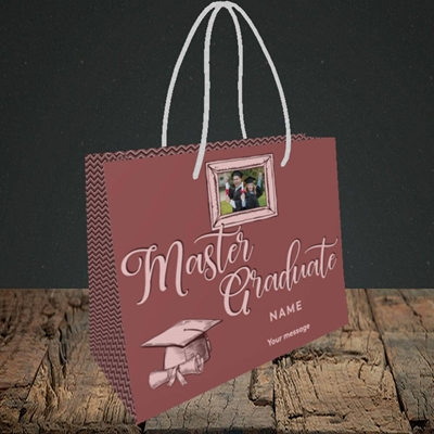 Picture of Master Graduate, Graduation Design, Small Landscape Gift Bag