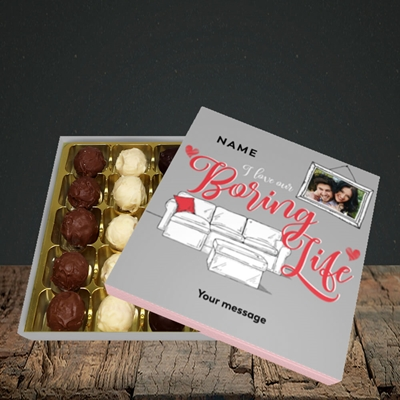 Picture of Boring Life, Valentine's Design, Choc 25