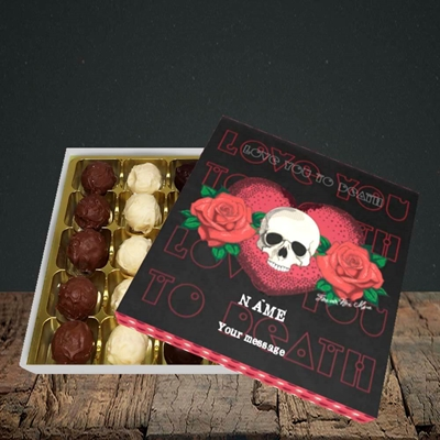 Picture of Love You To Death(Without Photo), Valentine Design, Choc 25