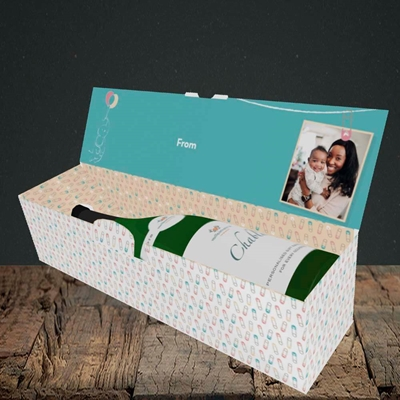 Picture of Wiping My Bum, Mother's Day Design, Lay-down Bottle Box
