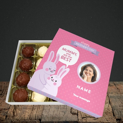 Picture of Mummy You Are The Best Bunny, Mother's Day Design, Choc 16