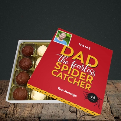 Picture of Spider Catcher, Father's Day Design, Choc 16
