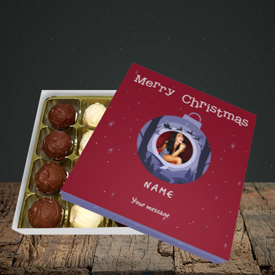 Picture of Bauble Scene, Christmas Design, Choc 16