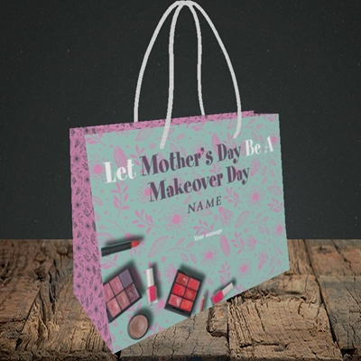Picture of Makeover Day(No Photo), Mother's Day Design, Small Landscape Gift Bag