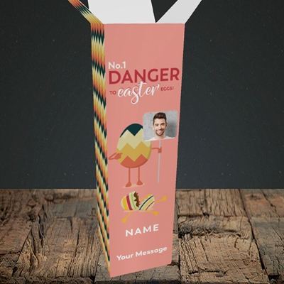 Picture of No.1 Danger, Easter Design, Upright Bottle Box
