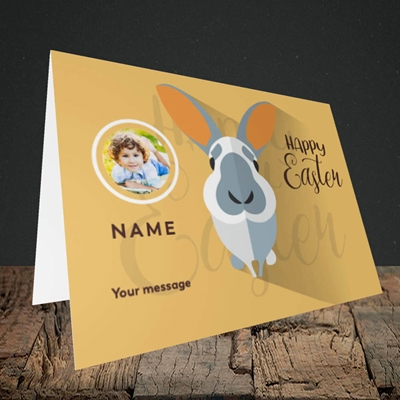 Picture of Pick Me Up Bunny, Easter Design, Landscape Greetings Card
