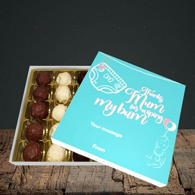 Picture of Wiping My Bum(Without Photo), Mother's Day Design, Choc 25