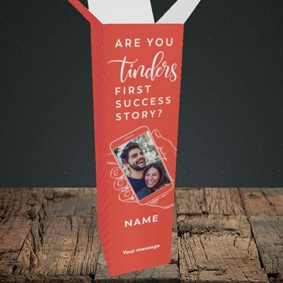 Picture of Tinder, Wedding Design, Upright Bottle Box