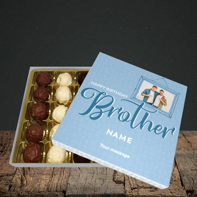 Picture of Brother, Birthday Design, Choc 25