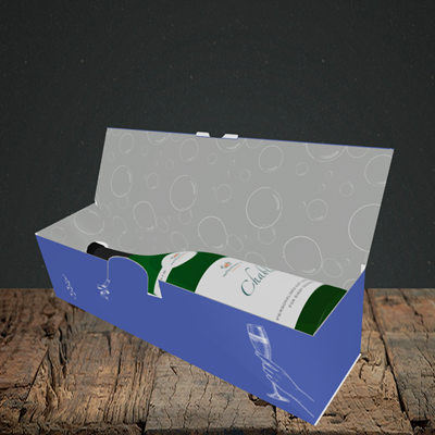 Picture of Blah, Birthday Design, Lay-down Bottle Box