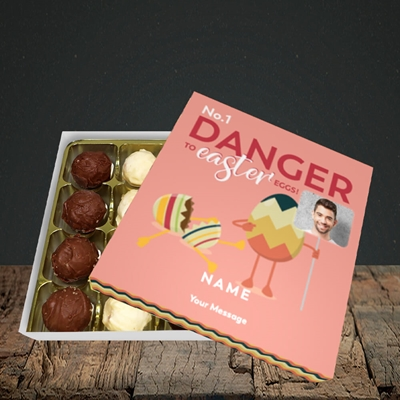 Picture of No.1 Danger, Easter Design, Choc 16