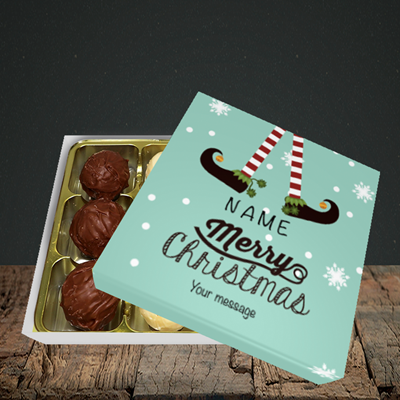 Picture of Elf, (Without Photo) Christmas Design, Choc 9