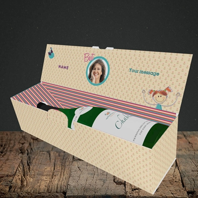 Picture of Best Mum, Lay-down Bottle Box
