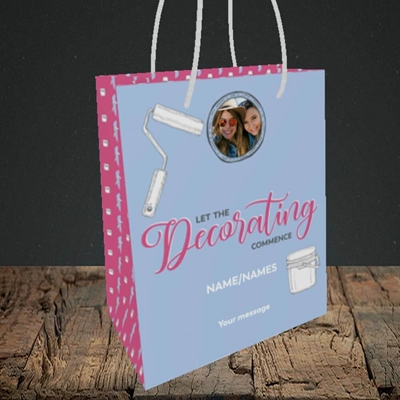 Picture of Decorating, New Home Design, Small Portrait Gift Bag