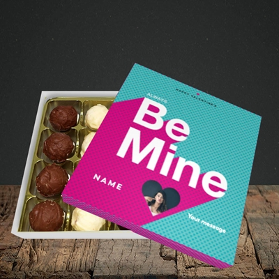 Picture of Always be Mine (type), Valentine Design, Choc 16