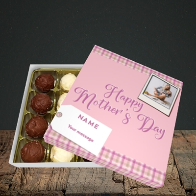 Picture of 2. Polaroid(Chequer), Mother's Day Design, Choc 16