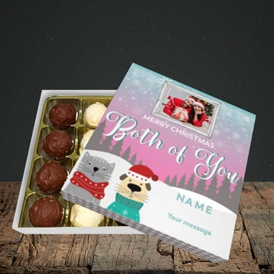 Picture of Both Of You, Christmas Design, Choc 16