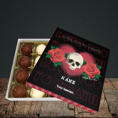 Picture of Love You To Death(Without Photo), Valentine Design, Choc 16