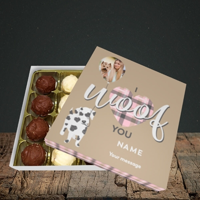 Picture of I Woof You, Valentine's Design, Choc 16