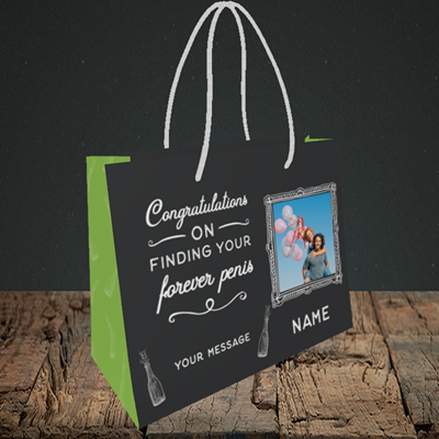 Picture of Forever, Engagement Design, Small Landscape Gift Bag