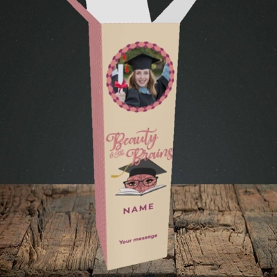 Picture of Beauty & The Brain, Graduation Design, Upright Bottle Box