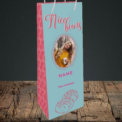 Picture of Nice Buns, Easter Design, Bottle Bag