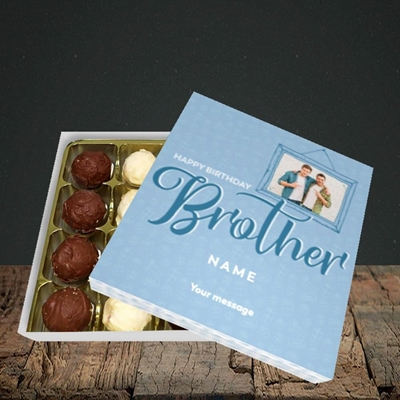 Picture of Brother, Birthday Design, Choc 16