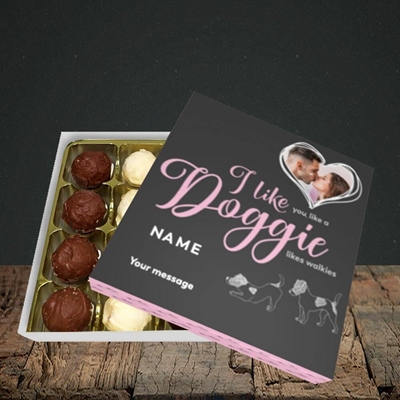 Picture of I Like Doggie, Valentine's Design, Choc 16