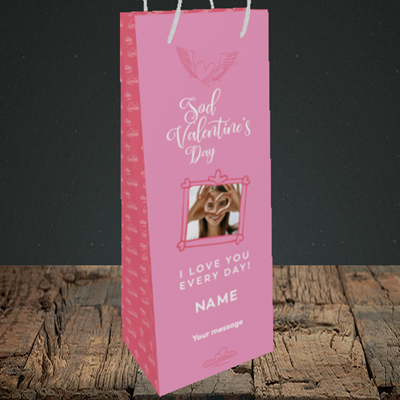 Picture of Sod Valentine's Day, Valentine's Design, Bottle Bag