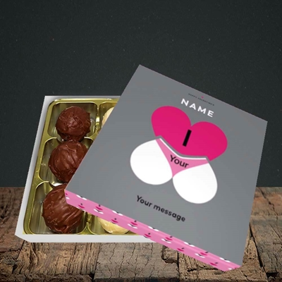Picture of I Love Your Bum(Without Photo), Valentine Design, Choc 9