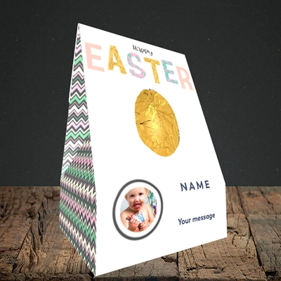 Picture of Happy Walking Egg, Easter Design, Truffle Easter Egg