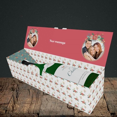 Picture of Mum Thanks For..., Mother's Day Design, Lay-down Bottle Box