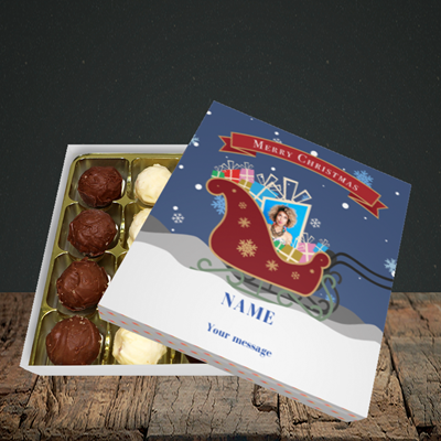 Picture of Sleigh Of Presents, Christmas Design, Choc 16